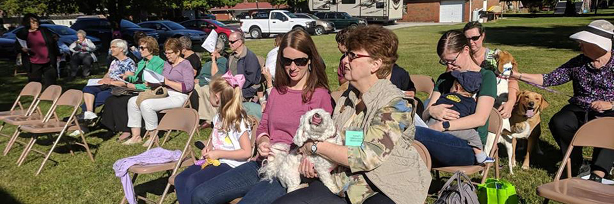 Pet Blessing at St John Fairview in Fairview Heights IL